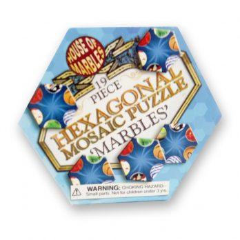 Hexagonal Marble Tile Puzzle
