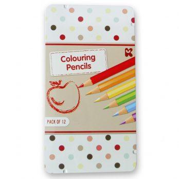 Colouring Pencils Tin